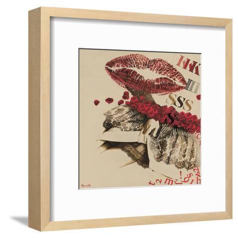 Kiss-Joëlle Vermeille-Framed Art Print