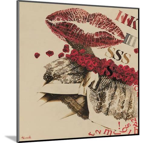 Kiss-Joëlle Vermeille-Mounted Art Print
