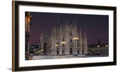 Milan, The Cathedral- Vesch-Framed Art Print