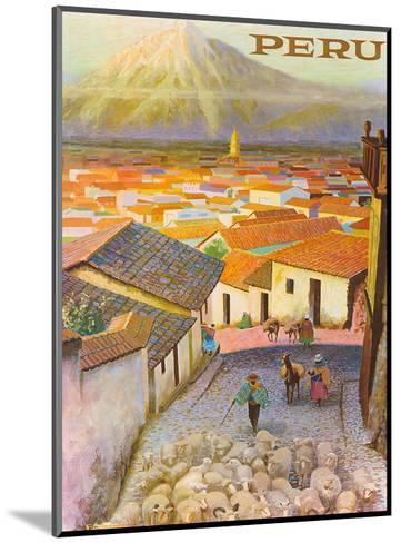 Cusco, Peru c.1950?s-F^C^ Hannon-Mounted Art Print