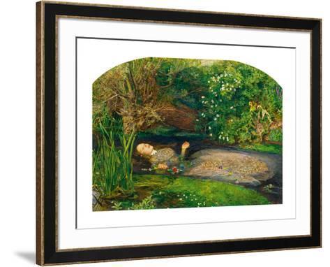 Ophelia, 1851-52-John Everett Millais-Framed Art Print