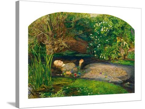 Ophelia, 1851-52-John Everett Millais-Stretched Canvas Print