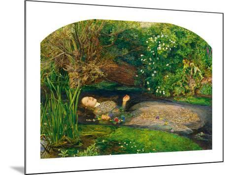 Ophelia, 1851-52-John Everett Millais-Mounted Art Print