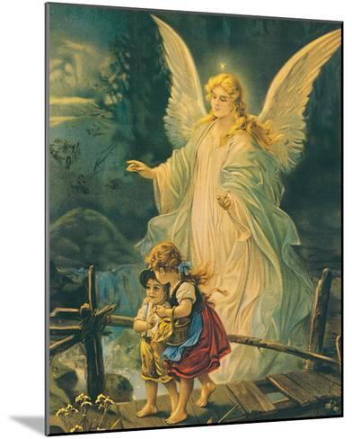 The Guardian Angel-The Victorian Collection-Mounted Art Print