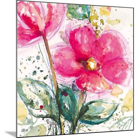 Pink Flower I-Lilian Scott-Mounted Art Print