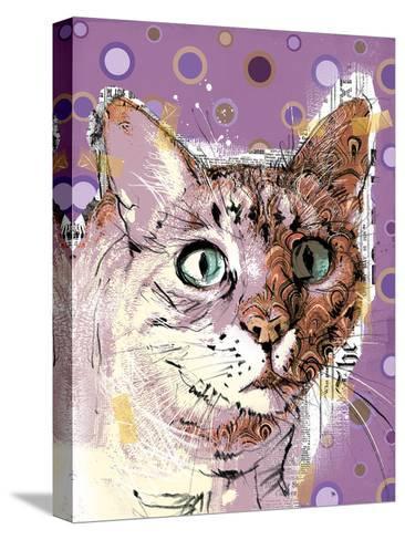 Poppet Cat I-Ken Hurd-Stretched Canvas Print