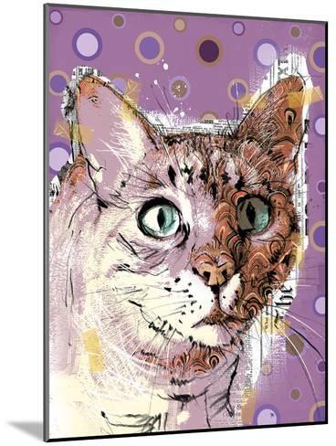Poppet Cat I-Ken Hurd-Mounted Art Print