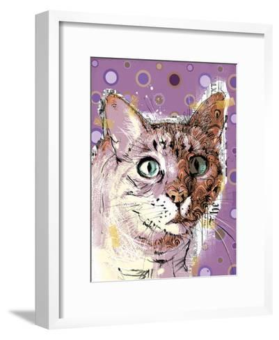 Poppet Cat I-Ken Hurd-Framed Art Print