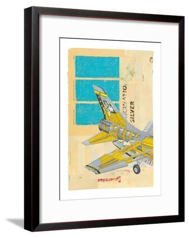 Jet No. 2-Kareem Rizk-Framed Art Print