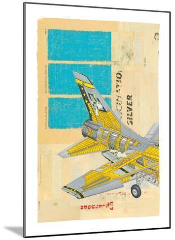 Jet No. 2-Kareem Rizk-Mounted Art Print