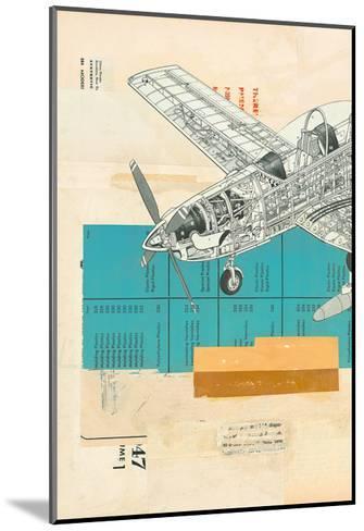 Fuselage-Kareem Rizk-Mounted Art Print