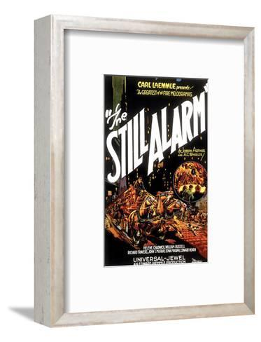 The Still Alarm - 1926--Framed Art Print