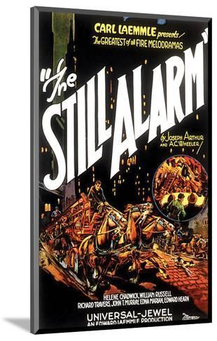 The Still Alarm - 1926--Mounted Giclee Print
