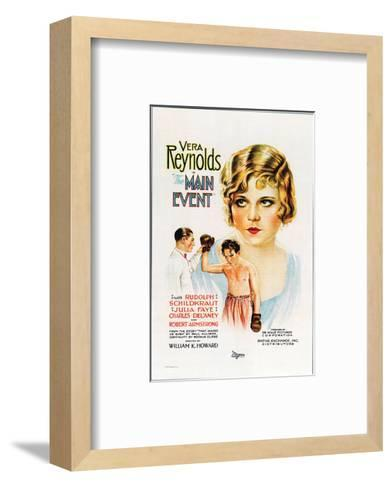 The Main Event - 1927--Framed Art Print