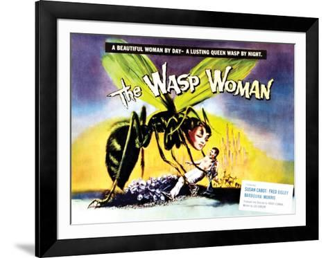 The Wasp Woman - 1959--Framed Art Print
