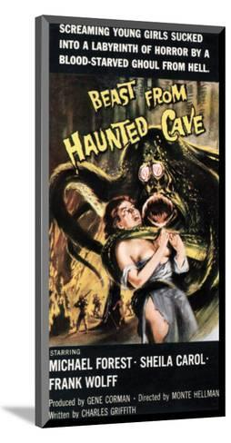 Beast From Haunted Cave - 1960 III--Mounted Giclee Print