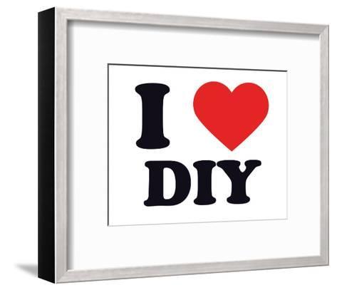 I Heart DIY--Framed Art Print