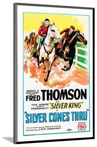 Silver Comes Through - 1927--Mounted Giclee Print