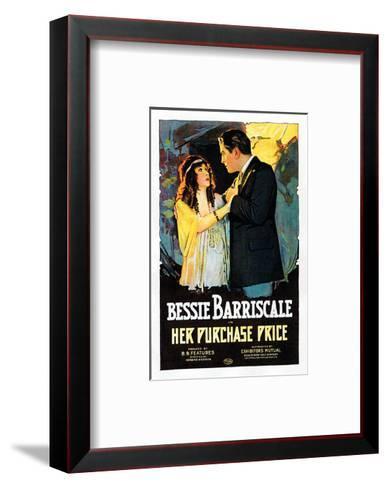 Her Purchase Price - 1919--Framed Art Print
