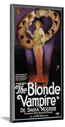 The Blonde Vampire - 1922--Mounted Giclee Print