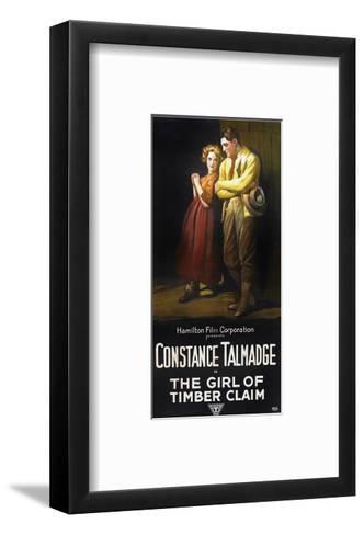 The Girl Of Timber Claim - 1917--Framed Art Print