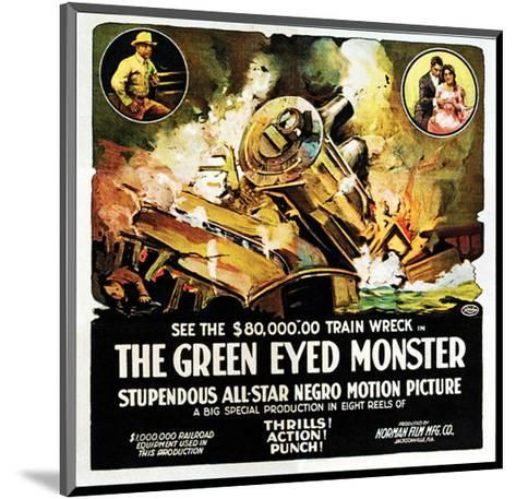 The Green Eyed Monster - 1919--Mounted Giclee Print