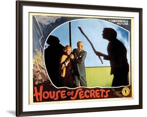 House Of Secrets - 1936 II--Framed Art Print