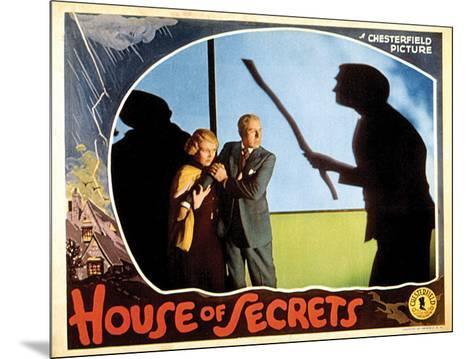House Of Secrets - 1936 II--Mounted Giclee Print