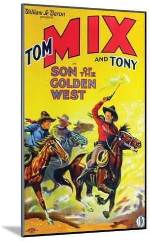 Son Of The Golden West - 1928--Mounted Giclee Print