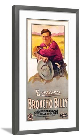 Broncho Billy - 1915--Framed Art Print