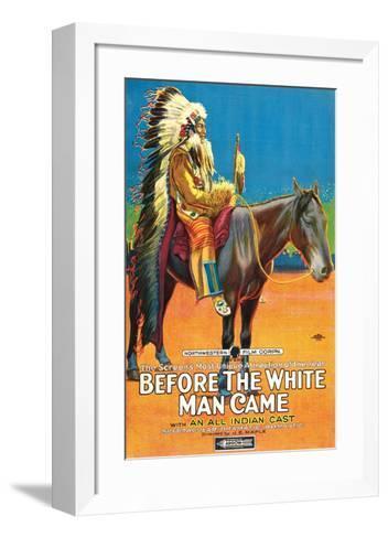 Before The White Man Came - 1920--Framed Art Print