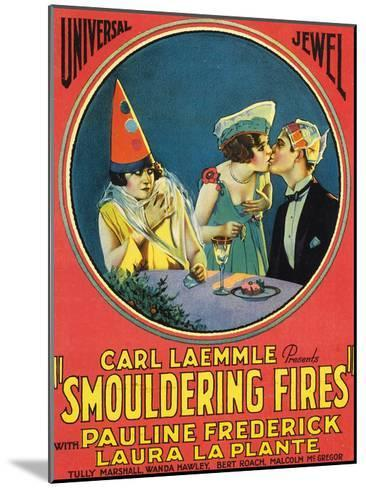 Smouldering Fires - 1925--Mounted Giclee Print