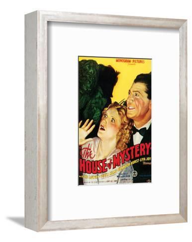 House Of Mystery - 1934 I--Framed Art Print