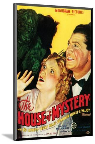 House Of Mystery - 1934 I--Mounted Giclee Print