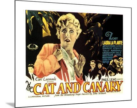 The Cat And The Canary - 1927 I--Mounted Giclee Print