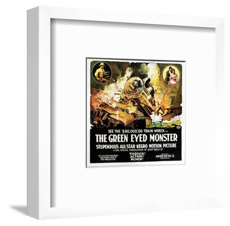 The Green Eyed Monster - 1919--Framed Art Print