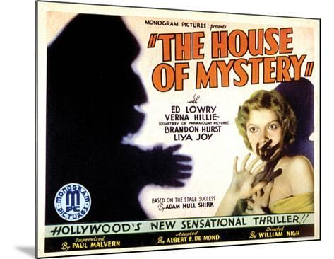 House Of Mystery - 1934 II--Mounted Giclee Print