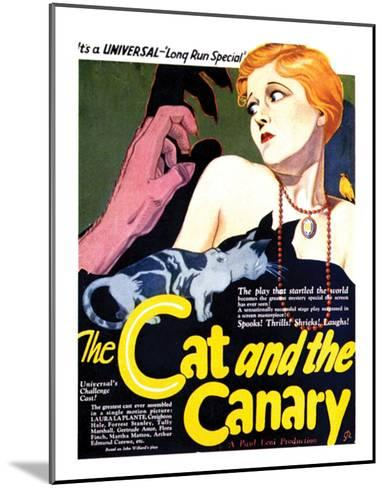 The Cat And The Canary - 1927 II--Mounted Giclee Print
