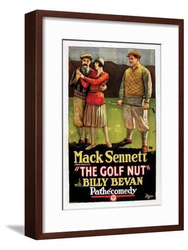 The Golf Nut - 1927--Framed Art Print