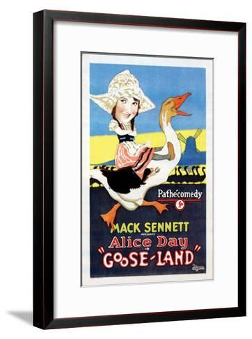 Gooseland - 1926--Framed Art Print