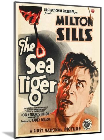The Sea Tiger - 1927--Mounted Giclee Print