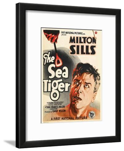The Sea Tiger - 1927--Framed Art Print