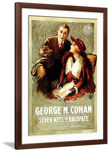Seven Keys To Baldpate - 1917--Framed Art Print