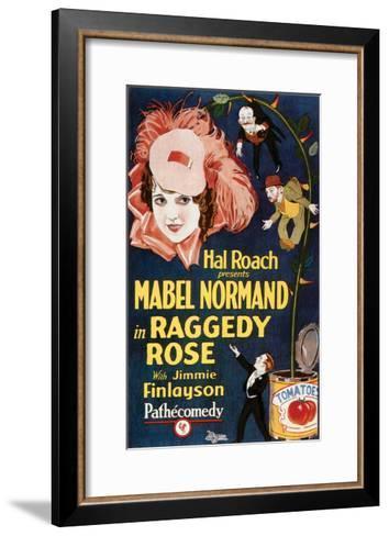 Raggedy Rose - 1926--Framed Art Print