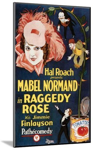 Raggedy Rose - 1926--Mounted Giclee Print