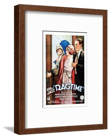 Ragtime - 1927--Framed Art Print