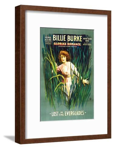 Gloria's Romance - 1916 I--Framed Art Print