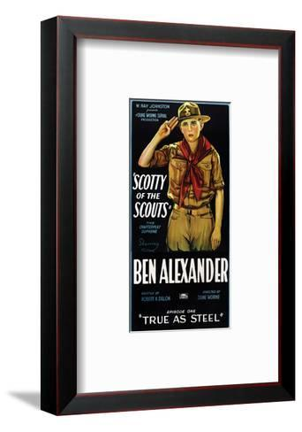 Scotty Of The Scouts - 1926--Framed Art Print