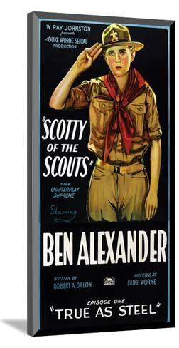 Scotty Of The Scouts - 1926--Mounted Giclee Print