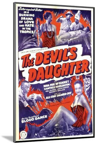 The Devil's Daughter - 1939--Mounted Giclee Print